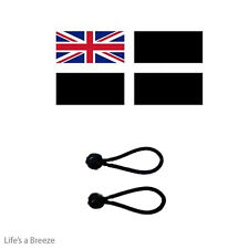 Cornwall Ensign Flag 5 x 3Ft Poles Or Windsocks Poles.Comes With Free Ball Ties