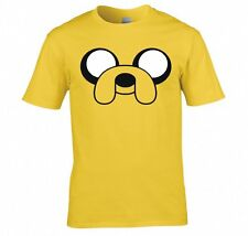 """ADVENTURE TIME """"JAKE THE DOG, FACE"""" T SHIRT NEW"""