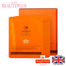Guerisson Horse Oil Hydrogel Gold Mask Moisturising Anti Wrinkles Sheet Mask BOX