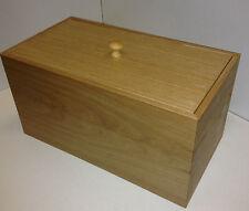 Wooden Bread Bin (real oak veneer)