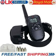 Electric Shock Vibrate Dog E-Collar Remote Control Pet Dog Training Anti-Bark UK