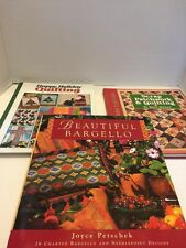 Beautiful Bargello Scrap Patchwork Happy Holiday Quilting Book Lot Of 3 HB