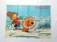 BD - Supplement Spirou n° 1978 / Poster Boule & Bill a la neige / 1976 / ROBA