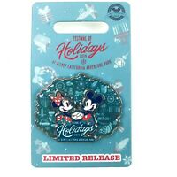 Disney Parks 2019 Festival of Holidays DCA Mickey Minnie Mouse LE Disney Pin