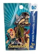 Dc Comics Bombshells Metal Enamel Pin Hawkgirl Adult Collectible Fansets New
