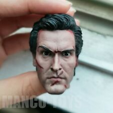 "1/6 scale Head Sculpt Evil Dead 2 Ash Williams Henrietta fit 12"" figure body"