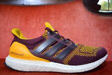 separation shoes fda79 f1780 Usado dos veces Arizona Estado Adidas Ultra Boost Talla 13 jugador Usado  Amarillo Borgoña