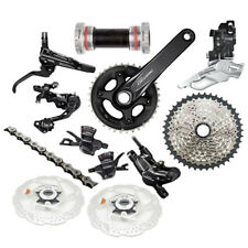 SHIMANO Deore M6000 2x10 Speed MTB Full Groupset W/M6000 Brake Set and Rotors