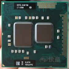 Intel Core i7-620M 2.66Ghz 4M Dual Core Processor Slbpd Cpu Socket G1 For Laptop