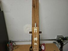 Antique Wood BEAUTY Clothes Drying 8 Arm Hanging Rack