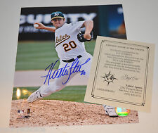 Houston Street 8 X 10 Autograph w/Cert San Diego Padres Oakland A's Rookie year