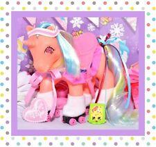 ❤️My Little Pony MLP G1 Vtg 1985 Twinkle Eye Speedy & Great Skates Pony Wear❤️