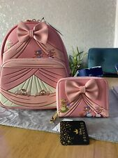 More details for cinderella loungefly backpack & purse