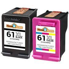 HP 61/ 61 XL Black CH563WN Color CH564WN Ink fits HP Deskjet 2540 2541 2542