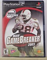 NCAA GameBreaker 2003 (Sony PlayStation 2, 2002) Tested