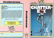 SWEDISH VTC VIDEO SLEEVE - CHATTER-BOX / NASTY DPP PRE-CERT INTEREST