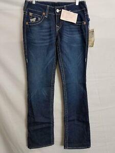 True Religion Women's Dark Wash Denim Jeans Sz 29 w/ Tags