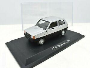 Fiat Scale 1/43 Panda 4 X 4 4X4 Car Models diecast NOREV collection Edicola