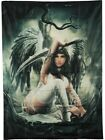 """Anne Stokes Angel Defender Cloth Fabric Poster Flag Banner 30"""" x 40"""" Brand New"""
