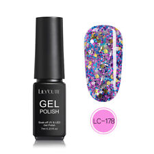 7ml Holographic Laser UV Gel Nail Polish Soak Off Color-changing Gel LILYCUTE
