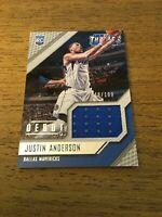Justin Anderson  Mavericks 2015-2016 Panini Threads Debut JSY#1 48/199