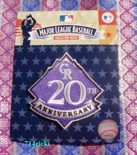 Official MLB 2013 Colorado Rockies 20th Anniversary Collectible Patch