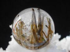 57 g  Rare Natural crystal  Rainbow Green Tourmaline Crystal Ball