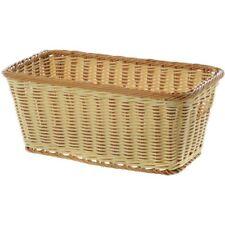 "G.E.T. Rectangular Washable Basket with Handles - 16""L x 9""W x 6 3/4""D"