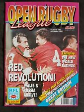 Open Rugby No.140 December 1991