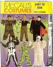 McCalls Sewing Patterns Childrens Fancy Dress Halloween Age 3-5