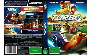 Turbo DVD dreamWorks FAST SHIPPING AND TRACKING
