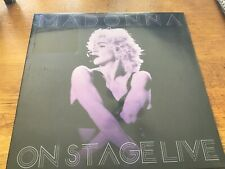 """Madonna - On Stage Live (Dallas 1990 Japan 1993) 12"""" LP NEW AND SEALED Mint"""