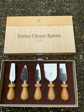Williams Sonoma Italian cheese cutlery set of five