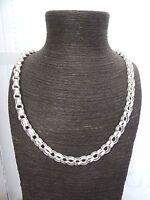Solid Sterling Silver.925 Heavy Plain & Patterned Belcher Chain 20,22,24,26, 30
