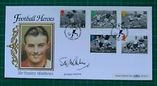 More details for 1996 benham football legends fdc signed by sir stanley mathews