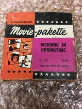 Película de película 8mm-Paleta boda en Primavera