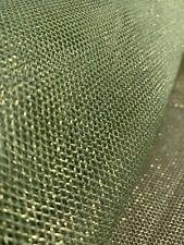 "Blue Glitter Mesh Net 2way Stretch Fabric 45"" Dresses Frozen Costumes Crafts"