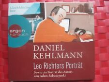 Daniel Kehlmann CD Leo Richters Porträt Sowie ein Porträt des Autors Soboczynski