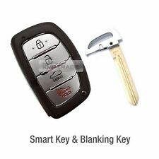 OEM Keyless Smart Key Remote Control Uncut Blank For HYUNDAI 2017 Elantra AD