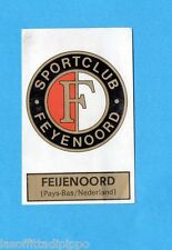BELGIO-FOOTBALL 1972/73-PANINI-Figurina n.290- FEIJENOORD -SCUDETTO/EMBLEEM-Rec