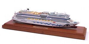 AIDA diva MODEL SHIP CRUISE NAVE DA CROCIERA con TECA - REVELL 1:1000 - Cm. 25