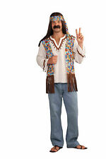 Adult 60s 70s Hippie Groovy Set Costume Standard