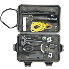 Outdoor Sports Emergency Survival Equipment Kit Tactical Hiking Camping Tool Set