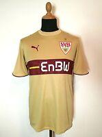 VFB Stuttgart Trikot M 2006/07 Enbw Gold Selten Puma Jersey Goldene Shirt Retro