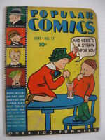 POPULAR COMICS #17 G Guide $83 Dick Tracy Moon Mullins Terry and the Pirates