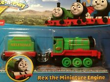 THOMAS & FRIENDS DIE CAST TAKE N PLAY  ''REX THE MINIATURE'' ENGINE SEALED