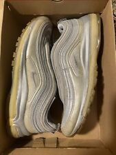 Nike Air Max 97 Met Silver 311013 001 Men's Size 11 Used With Box