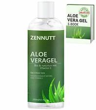 Gel Aloe Vera 250ML BIO 100%  Pur Naturel Apaiser Hydrater Visage Cheveux Corps