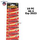 10 Pcs AG4 377 377A LR626 SR66 1.5 Volt Alkaline Button Cell Watch Battery