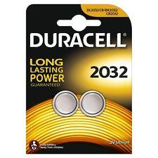 Duracell Batería de moneda de litio tipo de especialidad 2032 DL2032 ECR2032 (2 Baterías)
